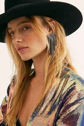 Free People Dripping Hearts Earring