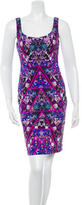 Nicole Miller Floral Print Sheath Dress w/ Tags