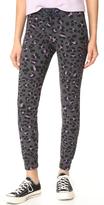 Sundry Leopard Skinny Sweatpants