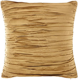 Austin Horn Collection Valour Pleated Silk Faux Silk Pillow