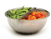 rsvp Duo Section Colander with Detachable Divider
