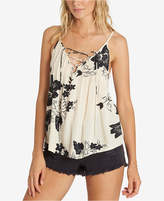 Billabong Juniors' Printed Lace-Up Top