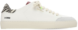 Axel Arigato 20mm Clean 90 Leather & Suede Sneakers