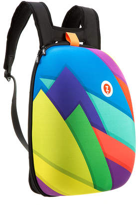 Zipit ZIPIT Backpacks - Multicolor Triangles Hard Shell Backpack