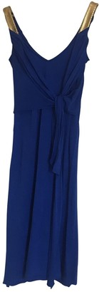 La Perla Blue Cotton Dresses