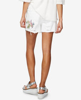 Rachel Roy Embroidered Ripped Shorts, Only at Macy's
