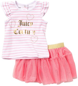 Juicy Couture Top & Skirt Set (Baby Girls 12-24M)