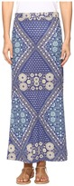 Roxy Forever Found Printed Maxi Skirt