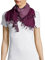 Collection 18 Tassel and Fringed Wrap