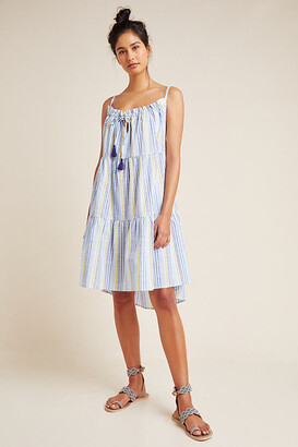 Anthropologie Bianca Tiered Cover-Up Dress By in Size L