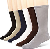 Muk Luks 6-pk. Mens Dress Socks