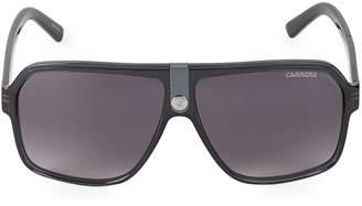 Carrera Logo 62MM Square Sunglasses