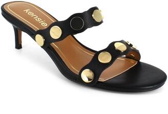 Kensie Gale Embellished Slide Sandal