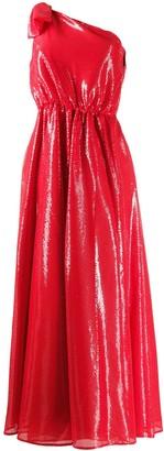 MSGM one shoulder dress