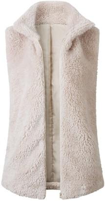 Goodnight Macaroon 'Cece' Fleece Zip-UP Vest (3 Colors)