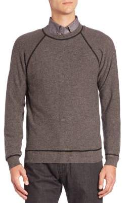 Luciano Barbera Crewneck Long Sleeve Sweater