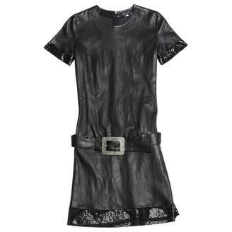 Jitrois \N Black Leather Dresses