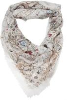 Alexander McQueen flower print scarf