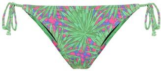 Reina Olga Love Triangle printed bikini bottoms