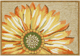 "Liora Manné Frontporch Sunflower Rug, Yellow, 30""x48"""