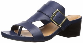 Kenneth Cole Reaction Women's Late Buckle Block Heeled Sandal