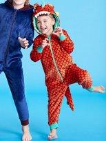 M&Co Dinosaur fleece onesie