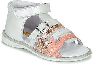 GBB APOLA girls's Sandals in White