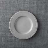 Crate & Barrel Staccato Grey Salad Plate