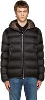 Moncler Black Down Chauvon Jacket