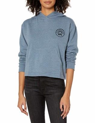 RVCA Junior's Progress Pullover Hooded Sweatshirt