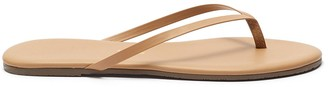 TKEES Foundations Matte leather flip flops