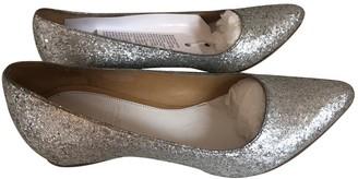 Maison Martin Margiela Pour H&m Silver Leather Flats