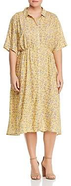 Junarose Plus Solaz Floral-Print Shirt Dress
