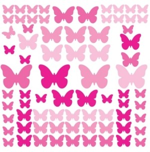 York Wall Coverings York Wallcoverings Flutter Butterflies Peel and Stick Wall Decals