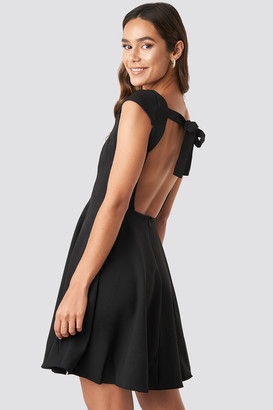 Trendyol Low Back Detailed Mini Dress