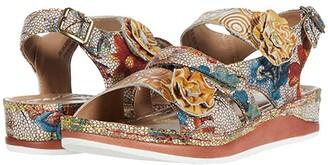 Spring Step L'Artiste by Joelina (Beige Multi) Women's Shoes