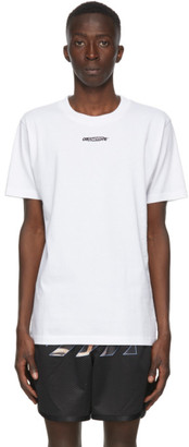 Off-White White Barrel Worker T-Shirt