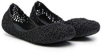 Mini Melissa Campana Papel ballerina shoes