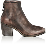 Marsèll Women's Layered-Detail Ankle Boots-Dark Brown