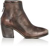 Marsèll Women's Layered-Detail Ankle Boots-DARK BROWN