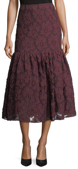 Co Lace Midi Mermaid Skirt