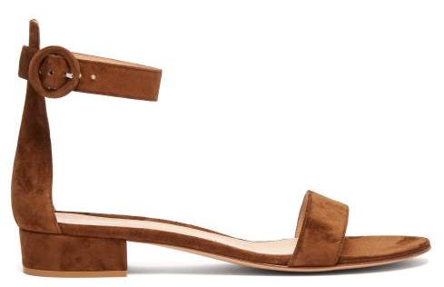 9031af7258a Gianvito Rossi Block Heel Women s Sandals - ShopStyle
