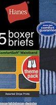 Red Label Hanes Boy's Stripe Boxer Brief 5-Pack