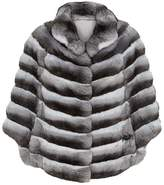Harrods Long Chinchilla Cape
