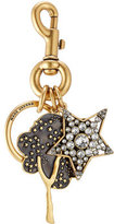 Marc Jacobs Embellished Keychain with Swarovski Stones