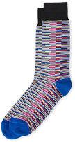 Jared Lang Comb Stripe Socks