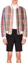 Thom Browne Madras Check Wool Jacket