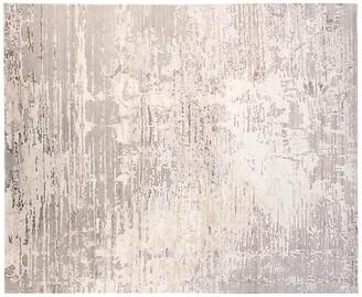 F.J. Kashanian 8'x10' Velvet Hand-Knotted Rug - Gray