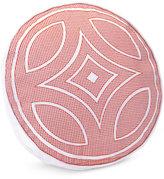 "Trina Turk Costa Mesa Medallion 16"" Retro Round Decorative Pillow"