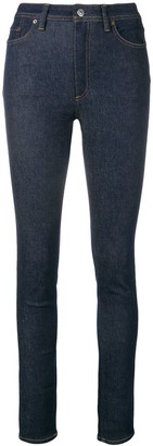 Acne Studios Peg high waist jeans